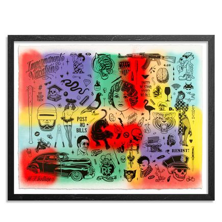 Mike Giant Art Print - Resist - HPM - 7 of 10