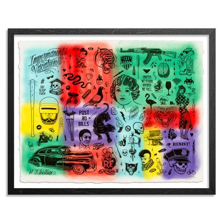 Mike Giant Art Print - Resist - HPM - 8 of 10