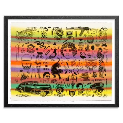 Mike Giant Art Print - Resist - HPM - 9 of 10
