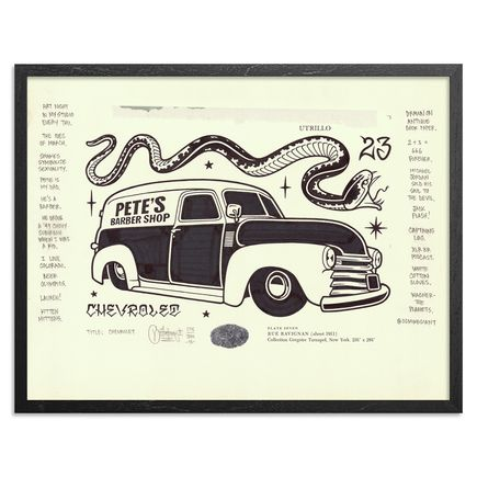 Mike Giant Original Art - Chevrolet - Original Artwork