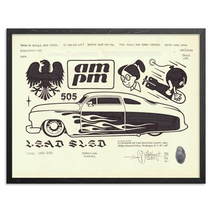 Mike Giant Original Art - Lead Sled