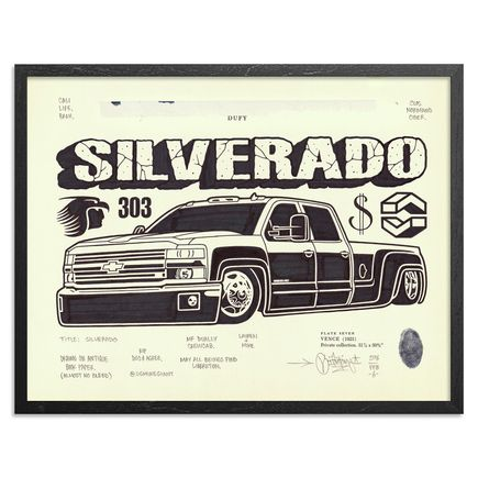 Mike Giant Original Art - Silverado