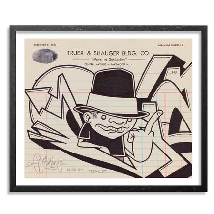 Mike Giant Original Art - Truex2_02 - Letterhead