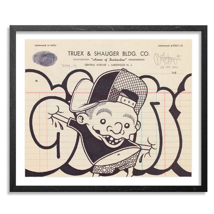 Mike Giant Original Art - Truex2_03 - Letterhead
