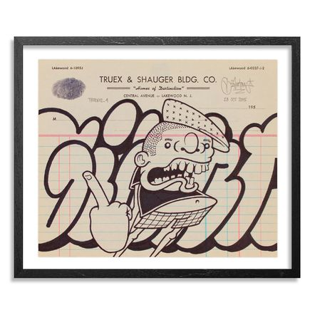 Mike Giant Original Art - Truex2_04 - Letterhead