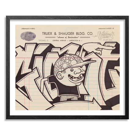 Mike Giant Original Art - Truex2_05 - Letterhead