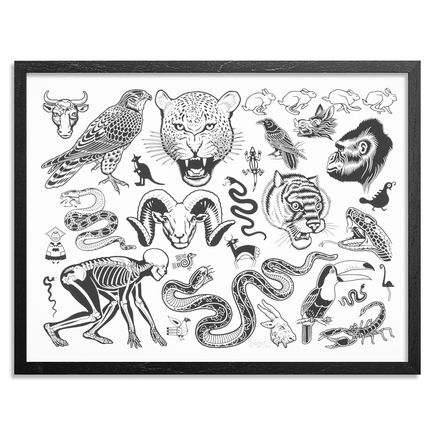 Mike Giant Art Print - Wildlife - Standard Edition