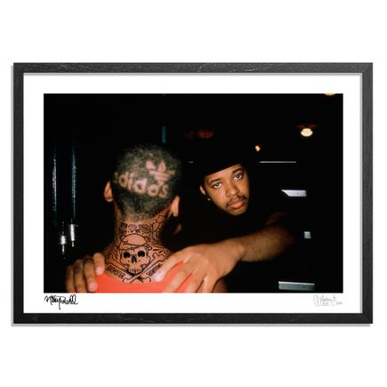 Mike Giant Art - Framed - Run. New Orleans. Raising Hell Tour. 1986. - Mike Giant Remix -
