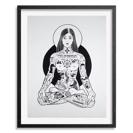 Mike Giant Art Print - Yogini - 18x24 Inch Edition