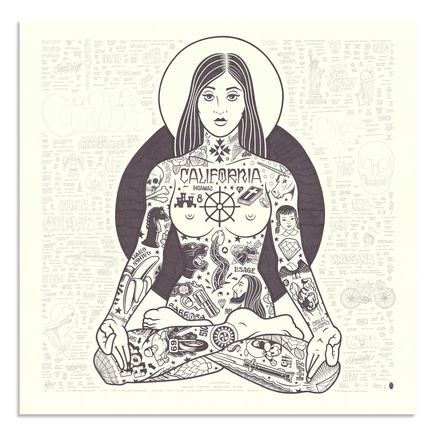 Mike Giant Original Art - Yogini - Original Artwork