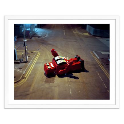 Michael John Hunter Art Print - Red Robot