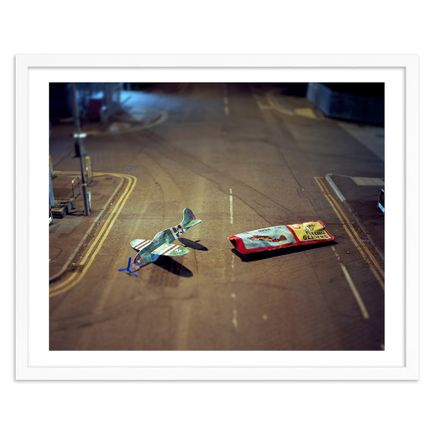 Michael John Hunter Art Print - Toy Glider