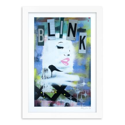 Mikey Francis Art Print - Blink - Limited Edition Prints