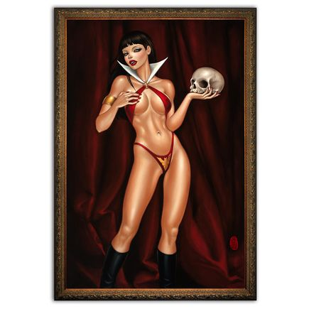 Mimi Yoon Original Art - My Vampirella - Original Painting