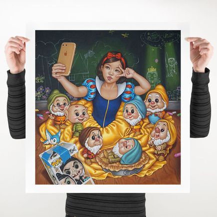 Mimi Yoon Art Print - 27 x 28 Inch Edition - Once Upon A Time No More 5