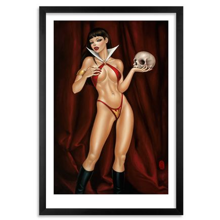 Mimi Yoon Art Print - My Vampirella - Limited Edition Prints