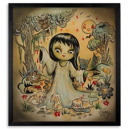 Misery Original Art - Bunny Milk - Original Painting