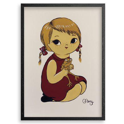 Misery Original Art - Elouises Cane Toad - Original Artwork