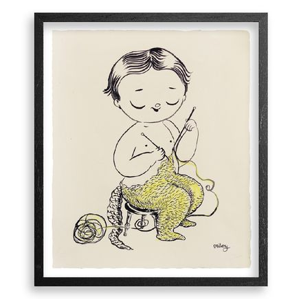 Misery Original Art - Knitting Suite - Original Artwork