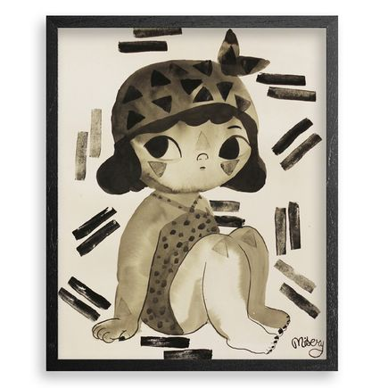 Misery Original Art - Little Warrior - Original Artwork