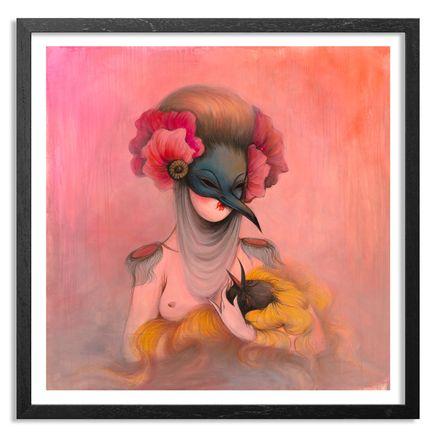 Miss Van Art Print - Mujer Pajaro V