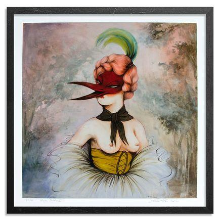 Miss Van Art Print - Mujer Pajaro II