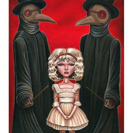 Audrey Pongracz Art Print - Memento Mori