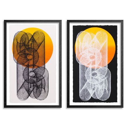 Moneyless Art Print - Alpha And Omega - 2 Print Set