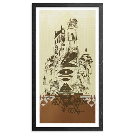 Monica Canilao Art Print - Home Sick - Copper Edition