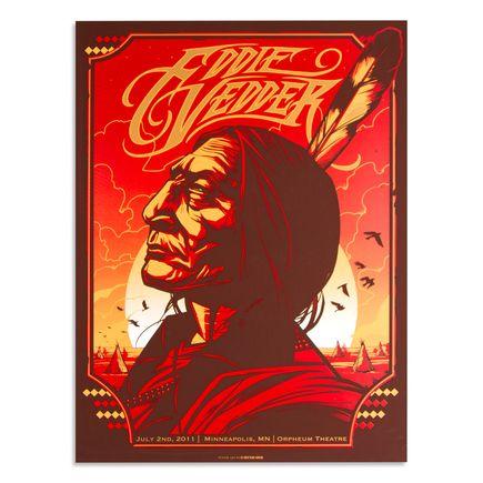 Munk One Art - Eddie Vedder - July 2nd, 2011 at Orpheum Theatre