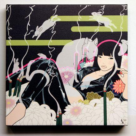 Yumiko Kayukawa Art Print - IZU ITTO MAI BODII - Is it my body
