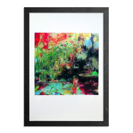The Heliotrope Foundation Art Print - Myrtle von Damitz III - Conversational Slime Mold