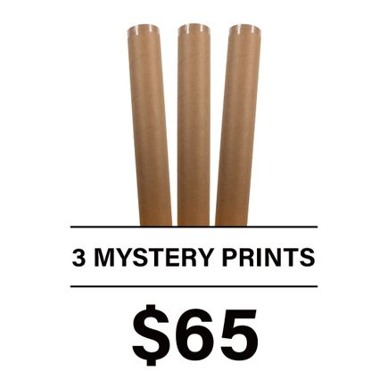 1xRUN Editions Art Print - 3 Mystery Prints