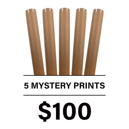 1xRUN Editions Art Print - 5 Mystery Prints