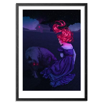 Natalia Rak Art Print - Midnight