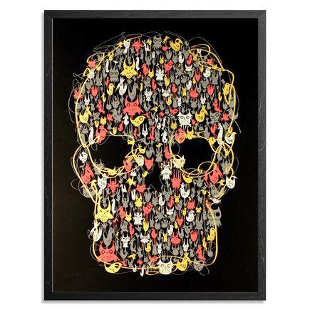 Nathan Jurevicius Art - Peleda Mask - Framed