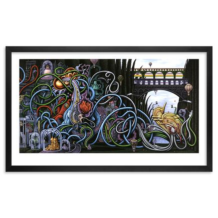 Nathan Spoor Art Print - The Glass Menagerie - Framed