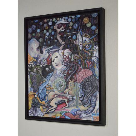 Nathan Spoor Original Art - Truth Automaton - Original Painting