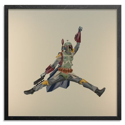 Naturel Art Print - Air Boba Fett - Aluminum Edition