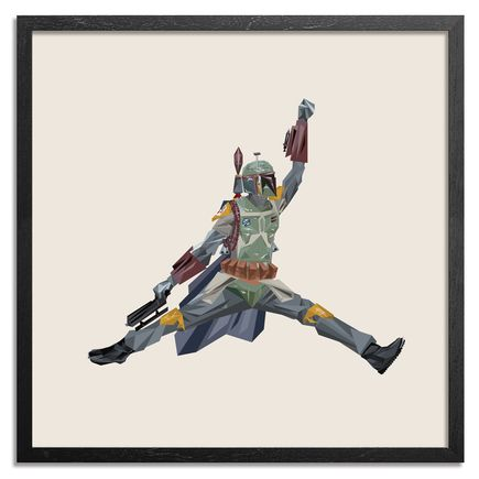 Naturel Art Print - Air Boba Fett - 17 x 17 Inch Edition