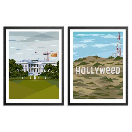 Naturel Art Print - Hollyweed + Cranes In The Sky - 2-Print Set