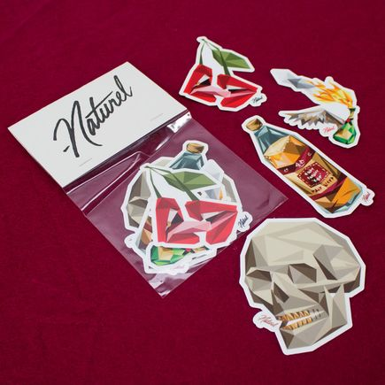 Naturel Art - Naturel Sticker Pack