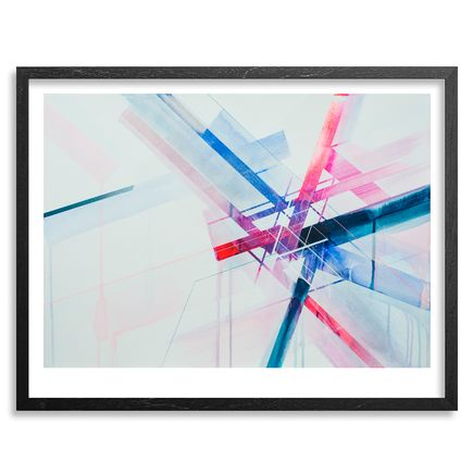 Nawer Art - Polarization - Framed