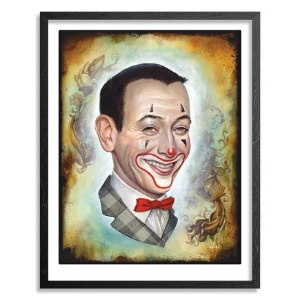 N.C. Winters Art - Make Em Laugh - Framed