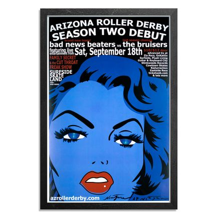 Niagara Art Print - Artist Proof -  Arizona Roller Derby Poster