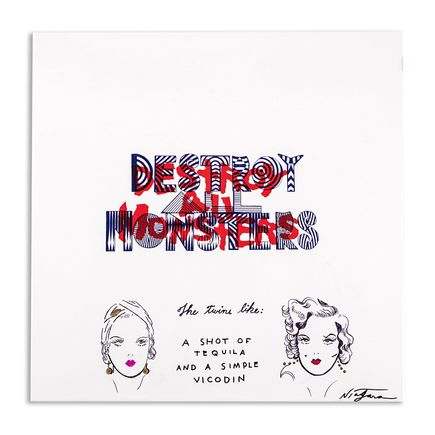 Niagara Art - Hand-Painted Destroy All Monsters Box Set - 05
