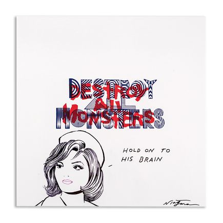 Niagara Art - Hand-Painted Destroy All Monsters Box Set - 06