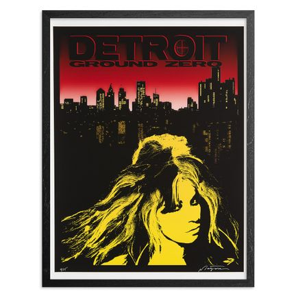 Niagara Art Print - Limited Edition Print - Detroit Ground Zero - Variant I