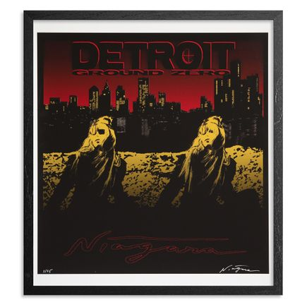 Niagara Art Print - Limited Edition Print - Detroit Ground Zero - Variant III