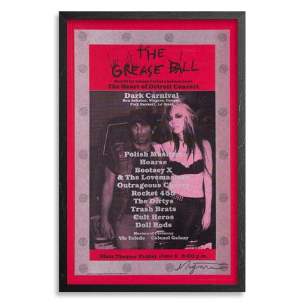 Niagara Art Print - The Grease Ball - Poster